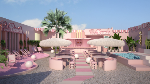 Pink Beach Celebration Package (+18)
