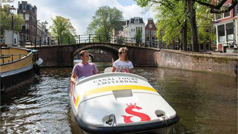 Pedal Boat from Rijksmuseum - 1,5 hrs