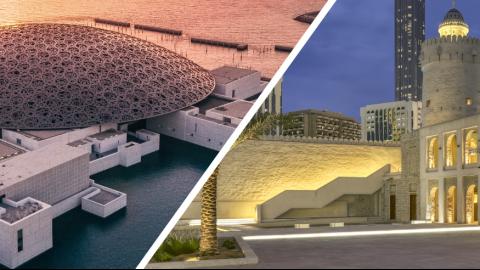 Louvre Abu Dhabi and Qasr Al Hosn - Combo Ticket