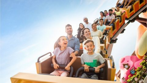 Two Park Pass with Q-Fast - Dubai Parks and Resorts - With 24h Free Cancellation