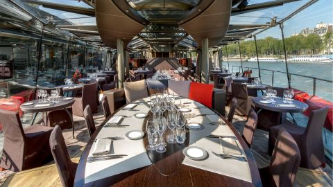 Celebrate Paris - with Champagne Lunch Cruise on the Seine