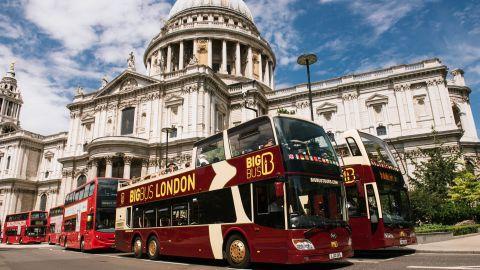 Big Bus Tours London hop on hop off
