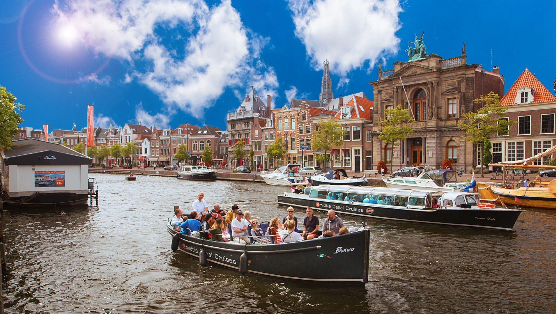 50 minuten grachten cruise in Haarlem